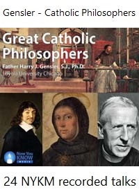 Recorded talks on Catholic Philosophers